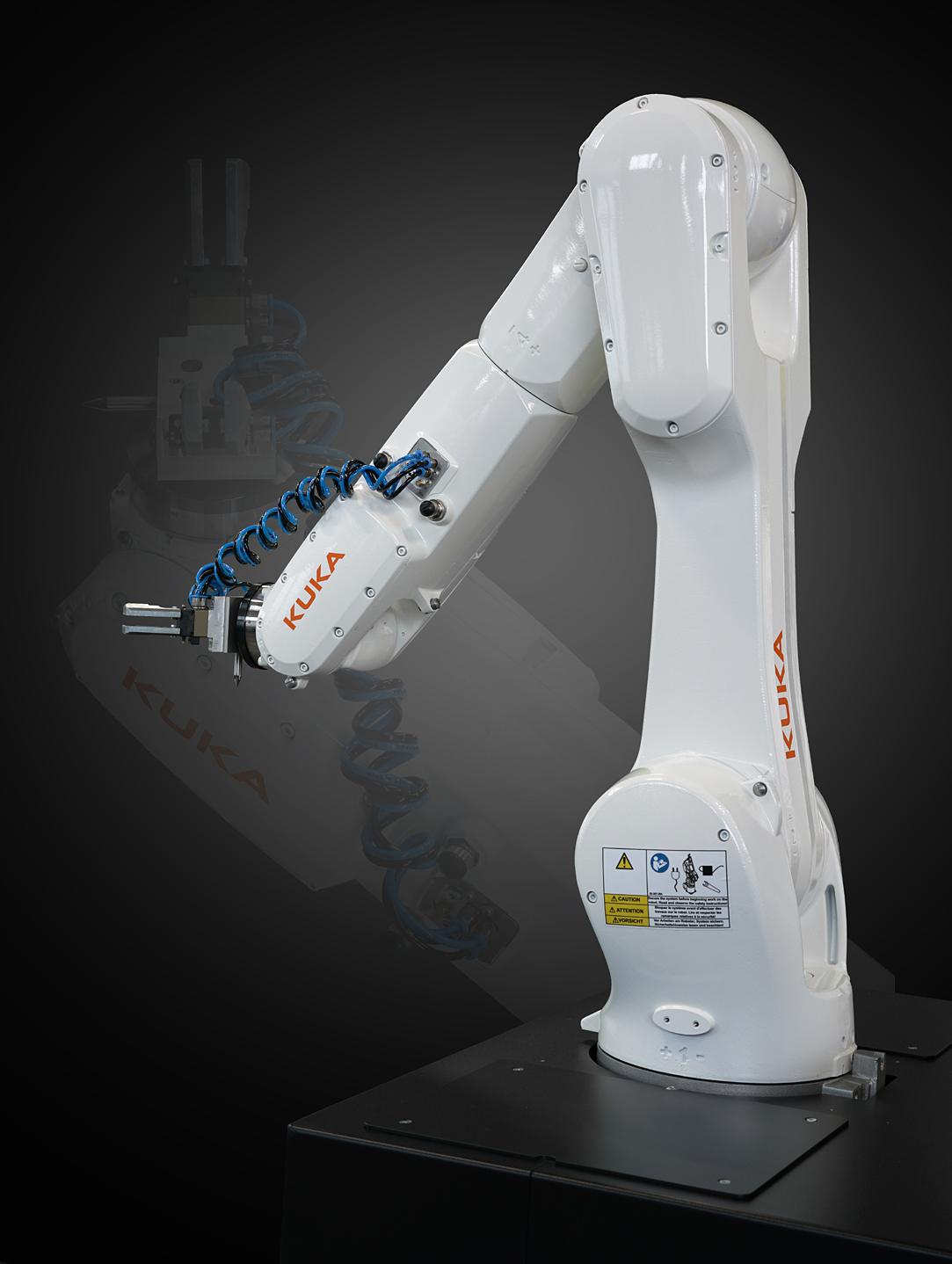 Roboter flexibel, Automation CNC