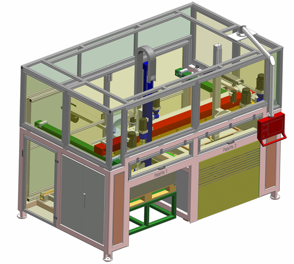 Teiletransport, 3-D Portalsystem, 3D- Ablagesystem