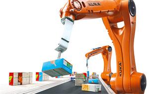 Automatisierung Robotik in Verpackungen