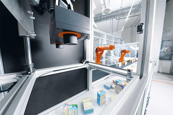 Automatisierungslösung Industrieroboter in Verpackungen
