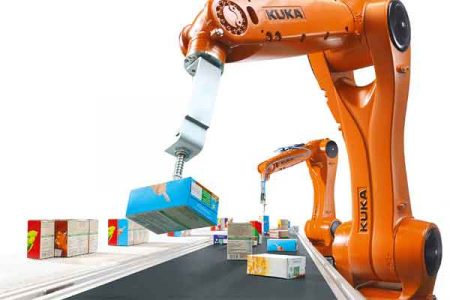Roboter Industrie in der Verpackungsbranche